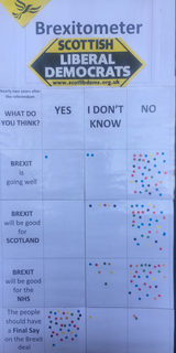 Brexitometer Haddington Nov 2018 ()
